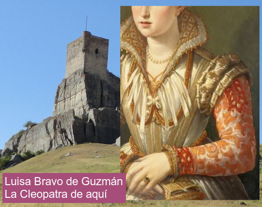 Luisa Bravo de Guzmán. La Cleopatra de aquí