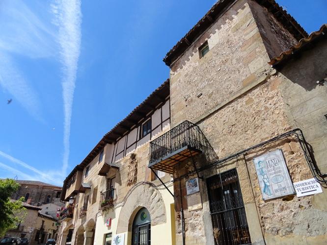 Casa de los Bravo de Laguna en Atienza, en la que nacieron algunos de los antepasados de Luisa Bravo
