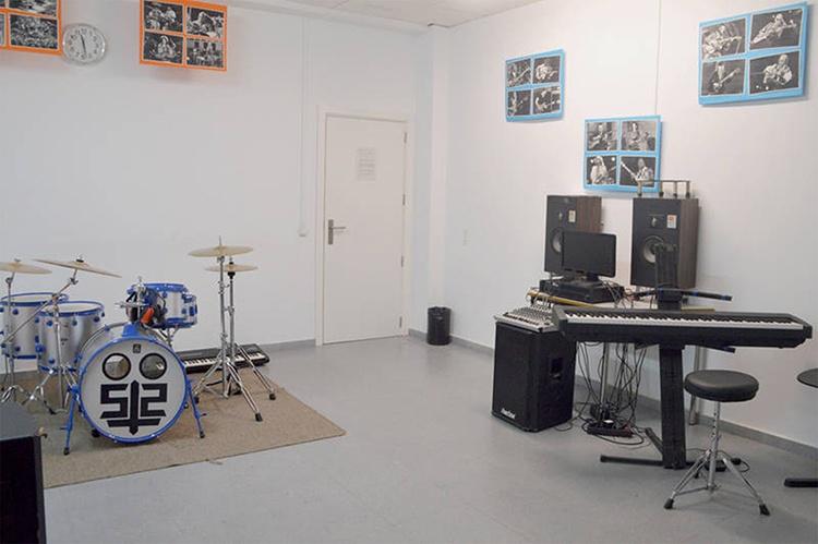 Imagen de archivo de una de las salas municipales de El Foro