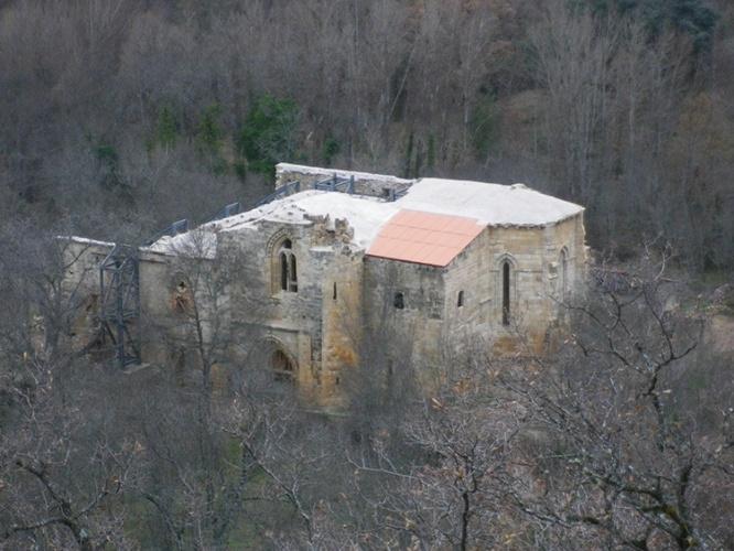 El monasterio tras la ultima actuación