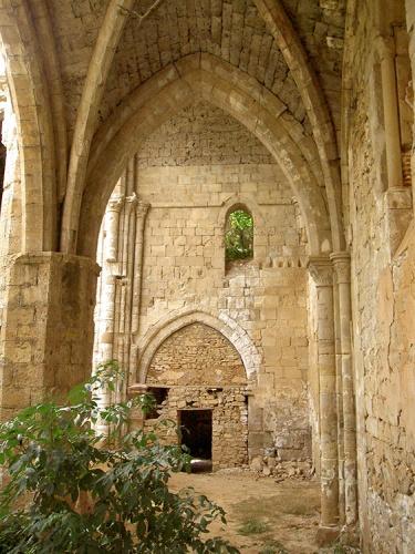 El monasterio antes de la restauración