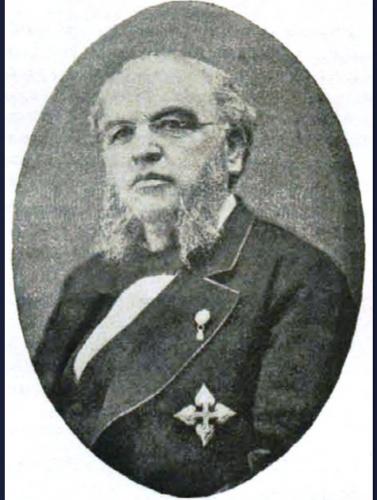 Francisco Javier García Rodrigo fue el encargado de llevar el cadáver del obispo desde Sigüenza hasta Tortosa