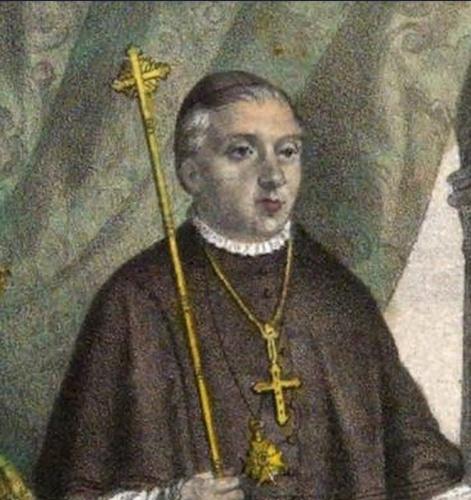 Damián Gordo Sáez, sobrino del difunto D. Damián, heredó incluso el obispado de Tortosa.