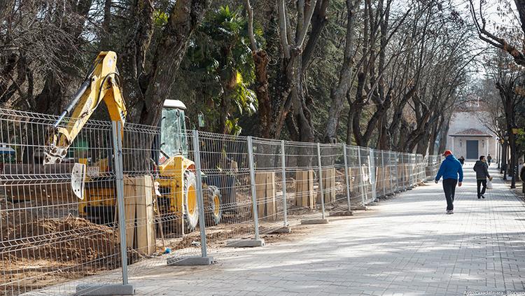 En primavera habrán terminado las obras del Parque de San Roque