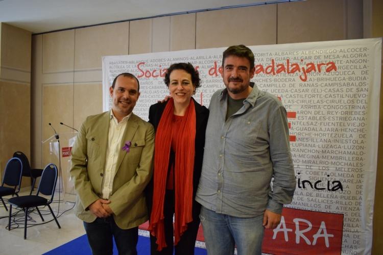 Valerio, Bellido y Esteban, candidatos al Congreso, a la Región y al Senado, respectivamente