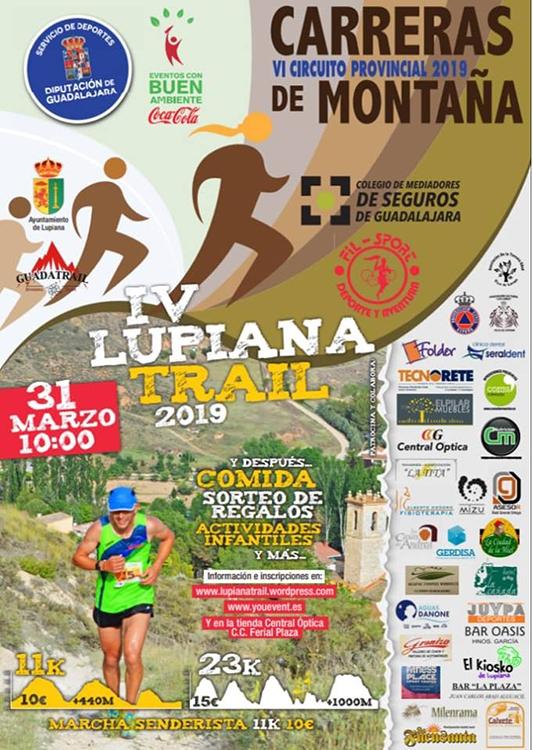 Este domingo 31 se celebra el IV Lupiana Trail