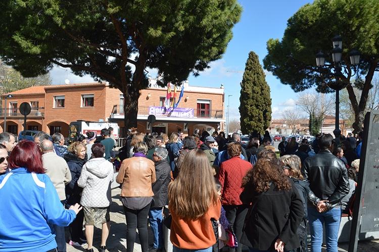 Imagen de la concentración en Azuqueca. Fotografía: Álvaro Díaz Villamil / Ayuntamiento de Azuqueca