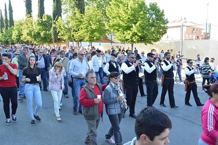 Azuqueca celebra hoy, día de San Isidro, la Fiesta de la Espiga, declarada de Interés Turístico Provincial