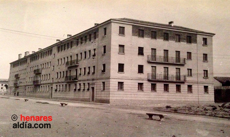 """Imagen del edificio entre los años 40-50. (Fotografía cedida por el grupo de Facebook """"Amigos de la ciudad d Guadalajara"""""""