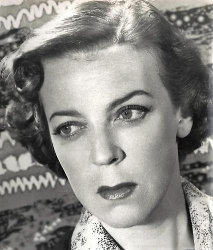 Amelia de la Torre. La actriz