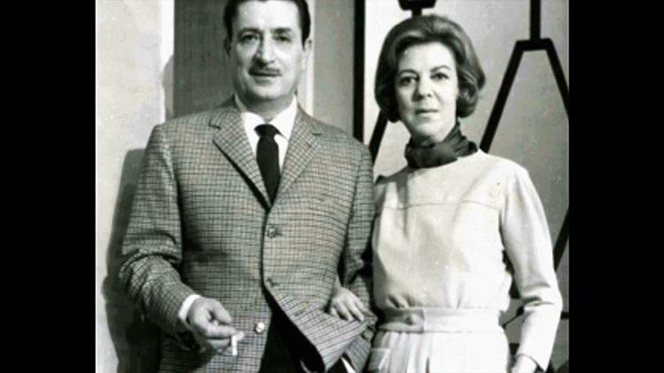 Amelia de la Torre y su marido, Enrique Diosdado