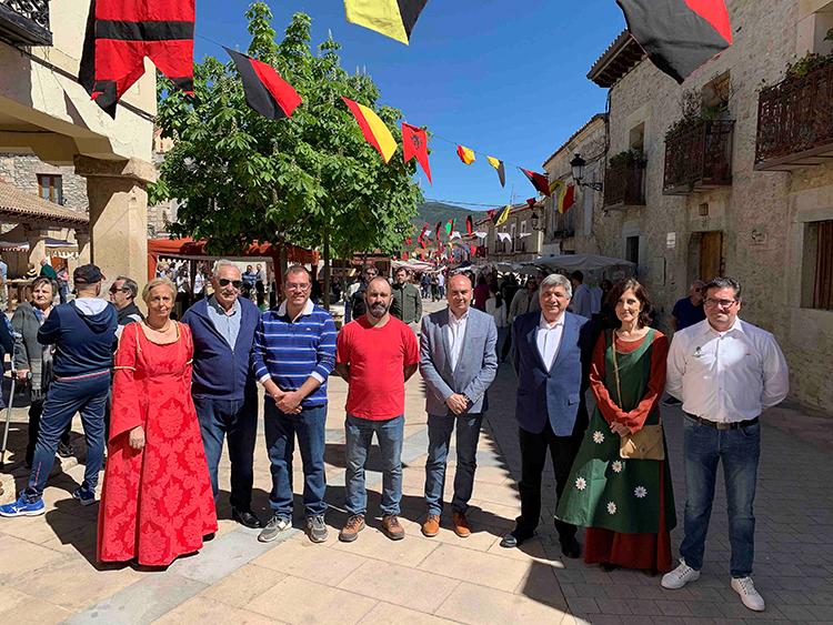 El Mercado Medieval de Tamajón se estrena como Fiesta de Interés Turístico Provincial