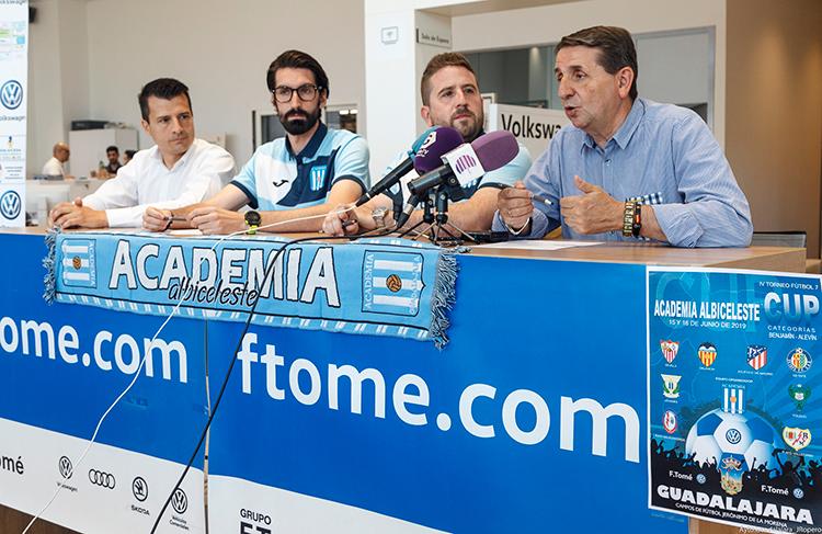 Más de 800 jugadores de 48 equipos, se darán cita en el IV Torneo de Fútbol 7 Cup Academia Albiceleste