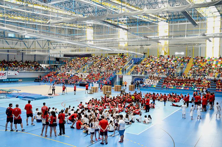Imagen de archivo de ambiente de la fiesta del deporte del año pasado. Fotografía: Álvaro Díaz Villamil / Ayuntamiento de Azuqueca