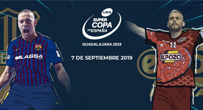 Guadalajara acogerá el 7 de septiembre la Supercopa de España 2019 de Fútbol Sala