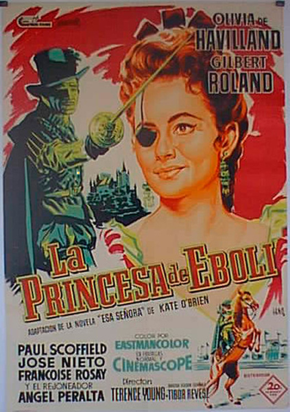 La Princesa de Éboli. dama del cine americano a través de Olivia de Havilland