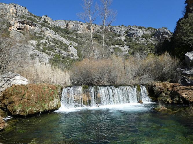 Cascada en el río Ablanquejo (Foto Eugenio Canfran)