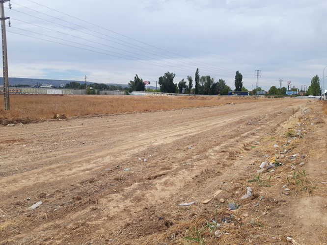 Vista del sector SUR-I11. Fotografía: Ayuntamiento de Azuqueca