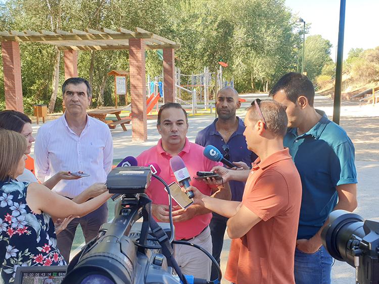 Carnicero reclama a Rojo recuperación la ribera del Henares hasta Manantiales y Castillejos