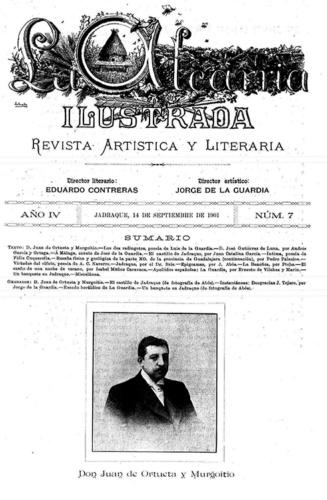 En Atienza y la Alcarria Ilustrada, comenzó Jorge Moya a dar a conocer sus dotes literarias