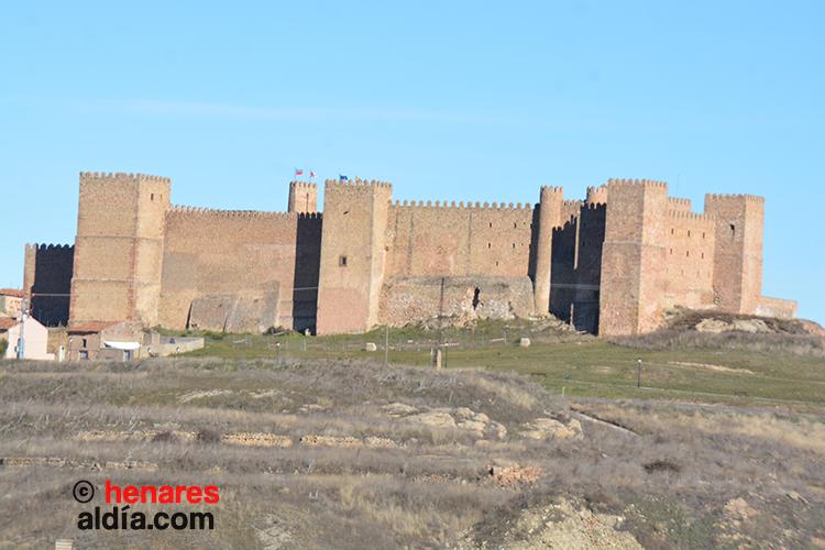 Castillo de Sigüenza, hoy convertido en Parador Nacional de Turismo