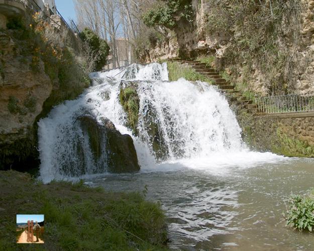 Cascadas del río Cifuentes en Trillo