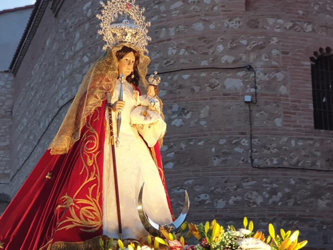 Virgen de la Antigua, patrona de Guadalajara