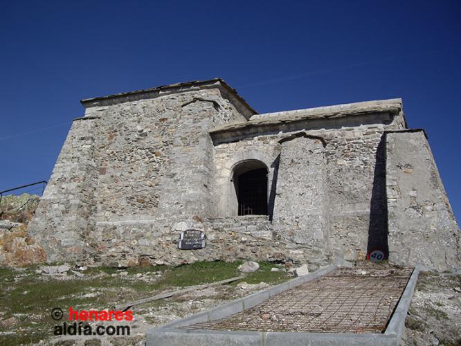 La ermita del Santo Alto Rey de la Majestad, en el término municipal de Bustares.