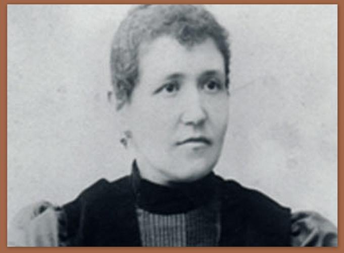 Asunción Vela López, en los últimos años de su vida