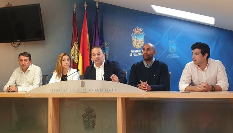 """Carnicero: """"En solo 100 días ha quedado demostrado que en Guadalajara votar a Ciudadanos era votar al Partido Socialista"""""""