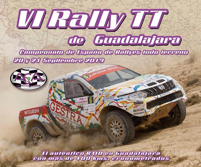 Este viernes y sábado se correrá el VI Rally TT de Guadalajara