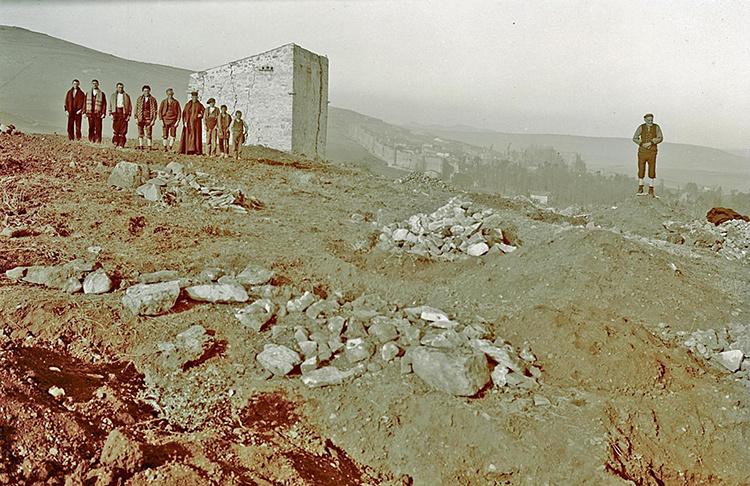 También en su natal Palazuelos, en el Cerro de la Horca, descubrió Juberías parte de su historia