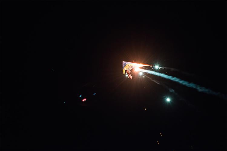 Alarilla. Cabalgata Aérea de Reyes (Foto Daniel Font)