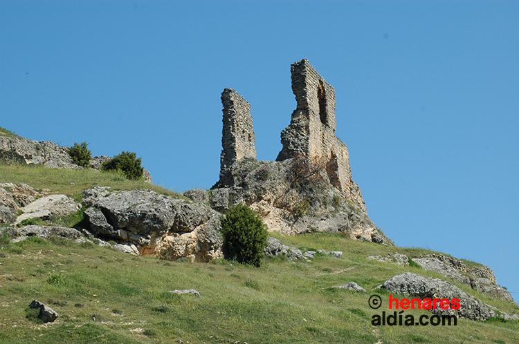 """Ruinas del castillo de Beleña de Sorbe, denominado de """"Doña urraca"""""""