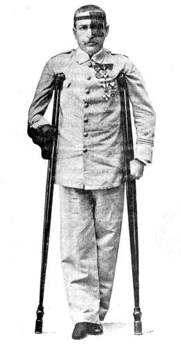 Emilio Sánchez de Arrojo, el laureado hermano de doña Elena.
