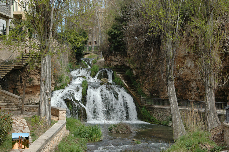 Cascada del río Cifuentes en Trillo