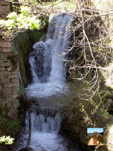 Cascada del río Genitoris en Checa