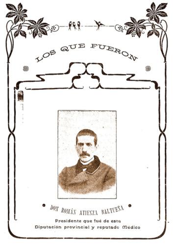 Don Román, en su etapa como Presidente de la Diputación Provincial