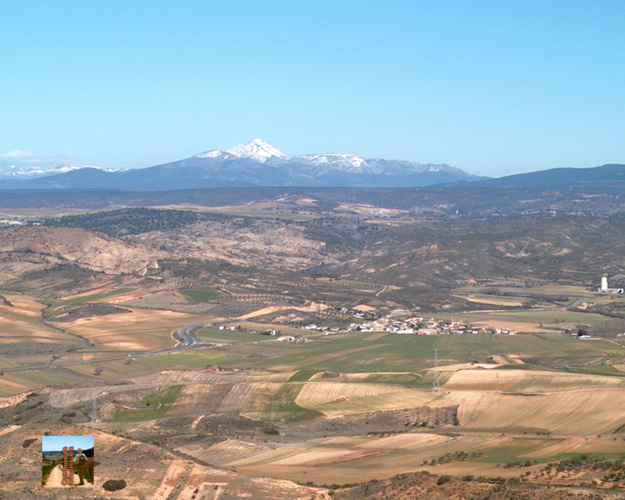 La Sierra desde la Muela de Alarilla