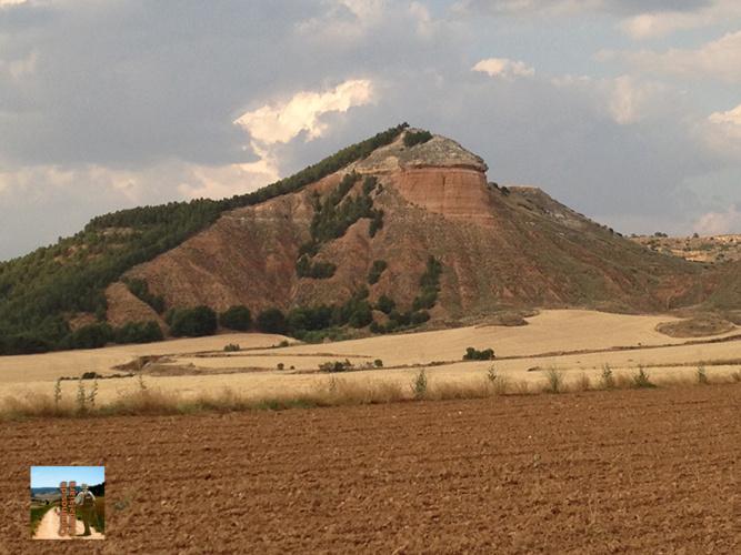 La Peña Hueva, en los alrededores de Guadalajara capital, con 900 metros de altitud.