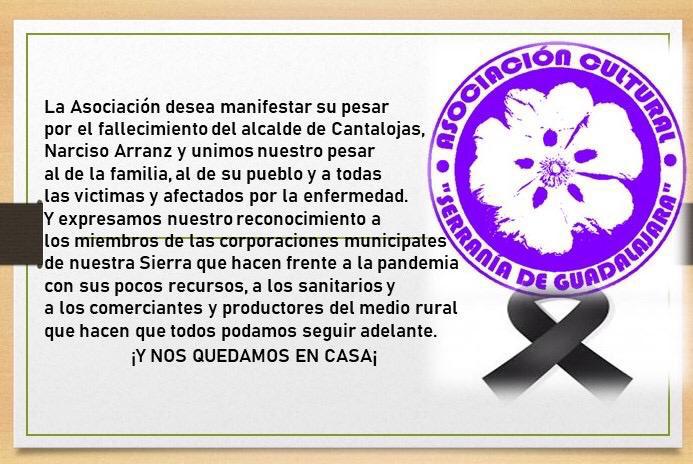 Declaración de la Asociación Serranía de Guadalajara