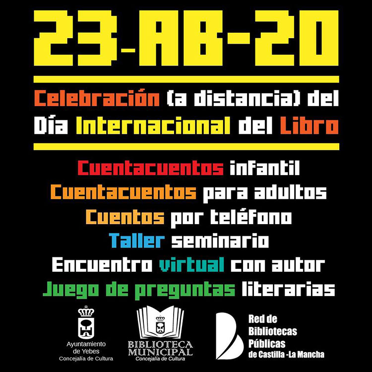 Yebes celebra el Día del Libro con muchas actividades
