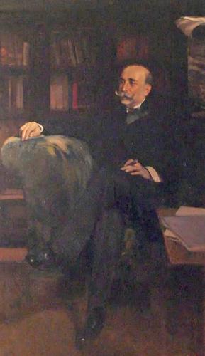 Don Calixto Rodríguez, por Sorolla, 1899