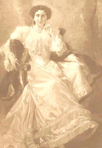 Martina Lorente Jiménez, pintada por Sorolla