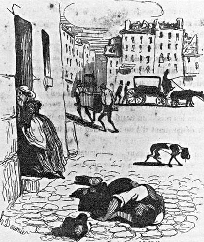 Los coléricos caían muertos en la calle, a causa de una deshidratación generalizada