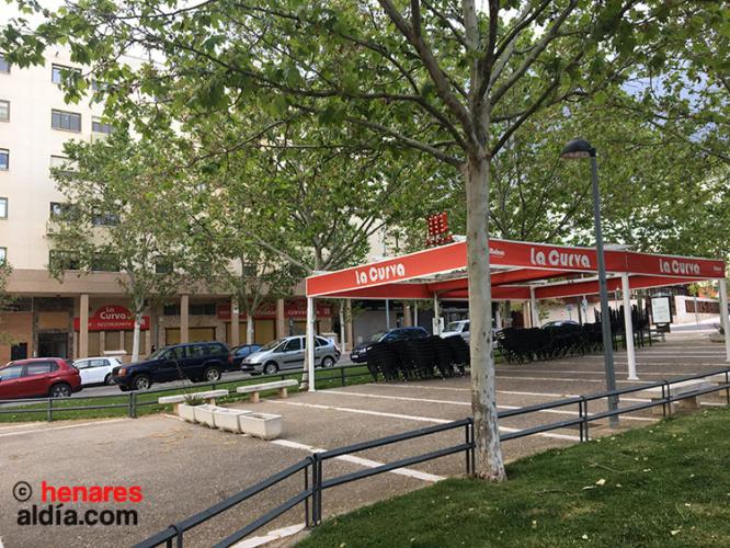 La Curva, uno de los muchos establecimientos que permanecen cerrado