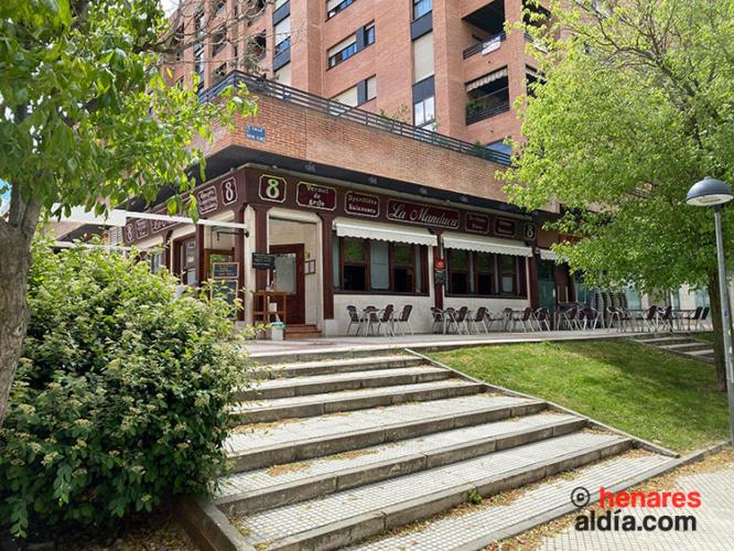 La Manduca, establecimiento abierto en la terraza