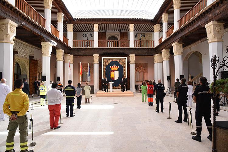 Imagen de archivo del Día de la Región celebrado el pasado año en el Palacio de Fuensalida en Toledo