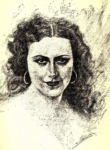 Eva Cervantes -Esperanza Perales- reunió en su casa a los principales poetas andaluces