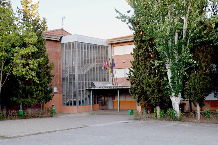 La extensión de la Escuela Oficial de Idiomas de Azuqueca se ubica en el IES Arcipreste de Hita. Fotografía: Ayuntamiento de Azuqueca